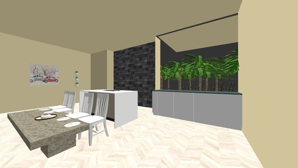 Kitchen 1 - by mdani91