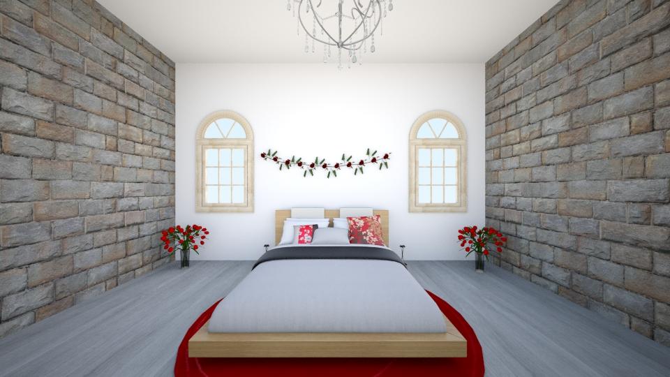 bedroom and garden - by LuanaSoaresDesigns
