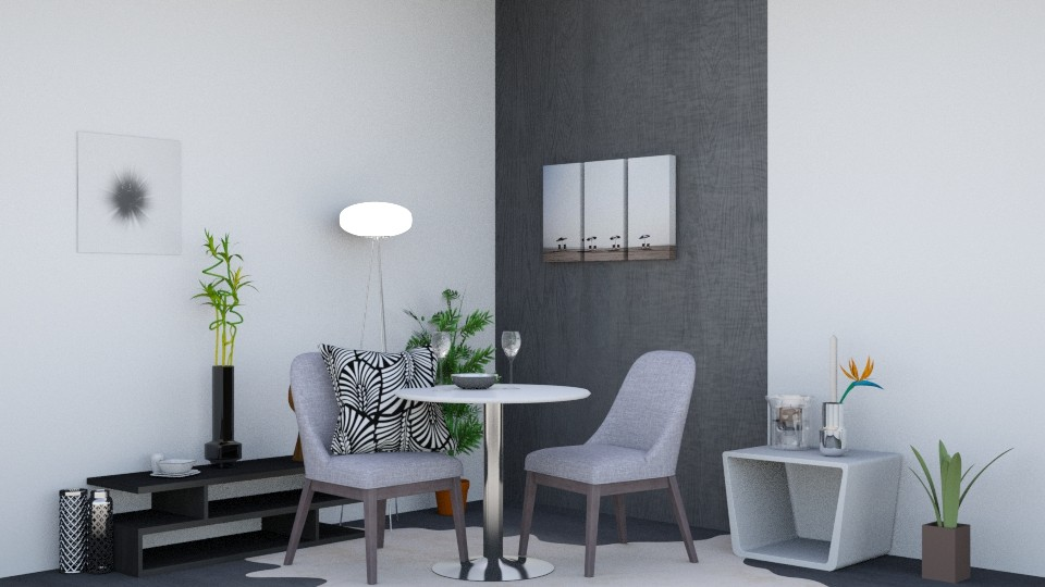 Sweet Dining - Modern - Dining room - by Isaacarchitect