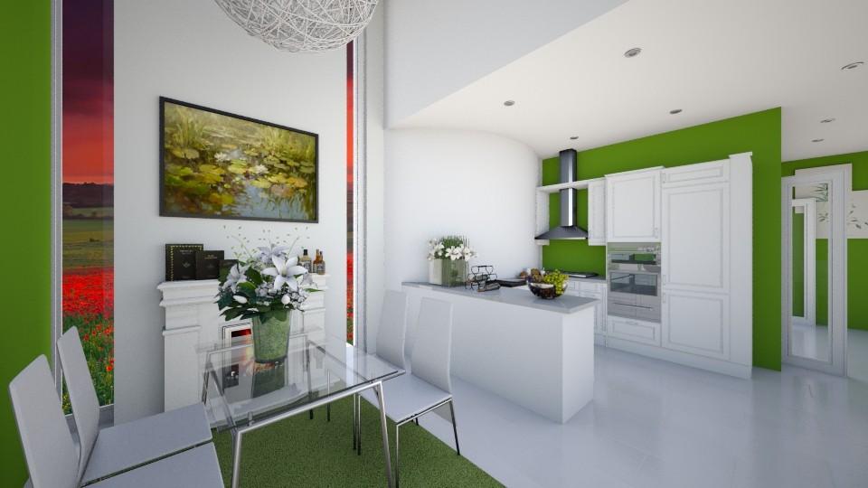 Kitchen 8 - Kitchen - by Mariaa S