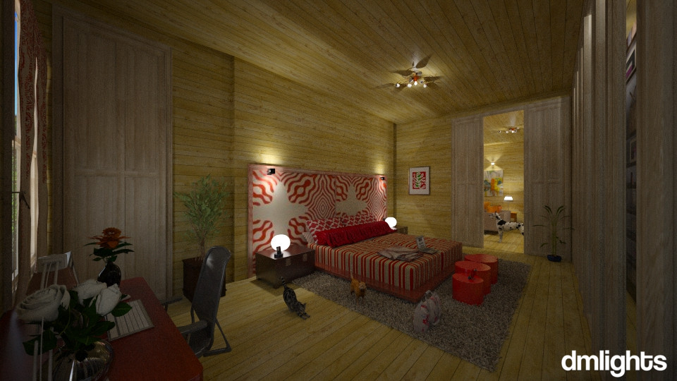 Sala 1 - Bedroom - by DMLights-user-994540