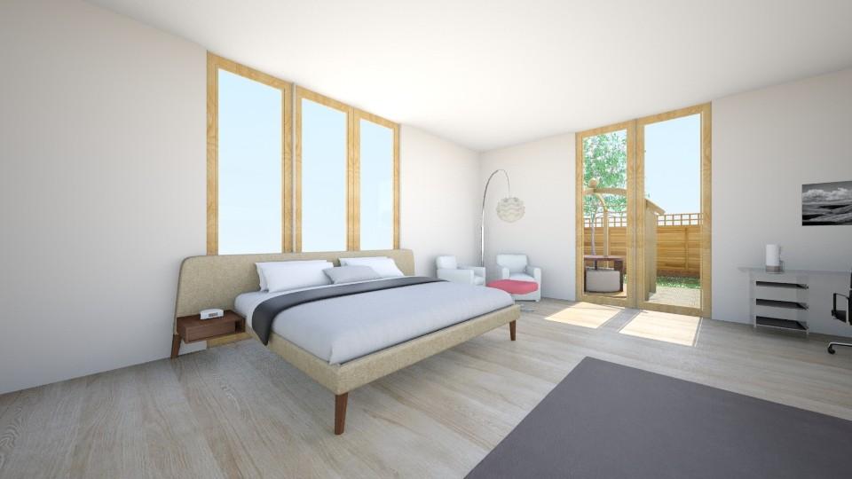 Jasio  - Bedroom - by Karolina Banasiewicz