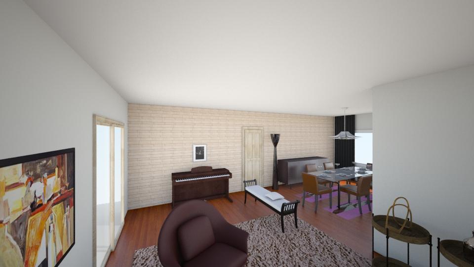 calam - Living room - by jupitervasconcelos