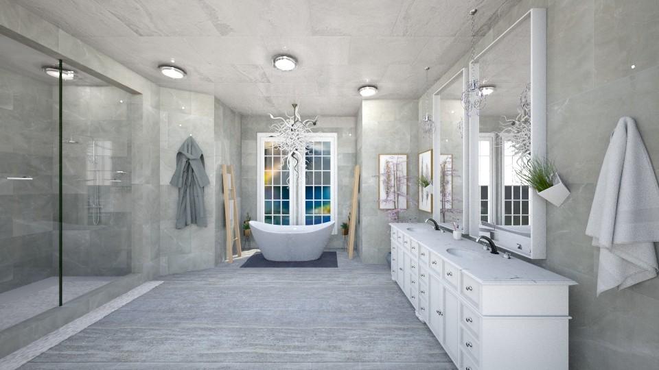 marble bathroomasdasd - Bathroom - by fernadia3