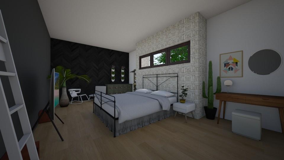 bedroom - Bedroom - by Louxx19