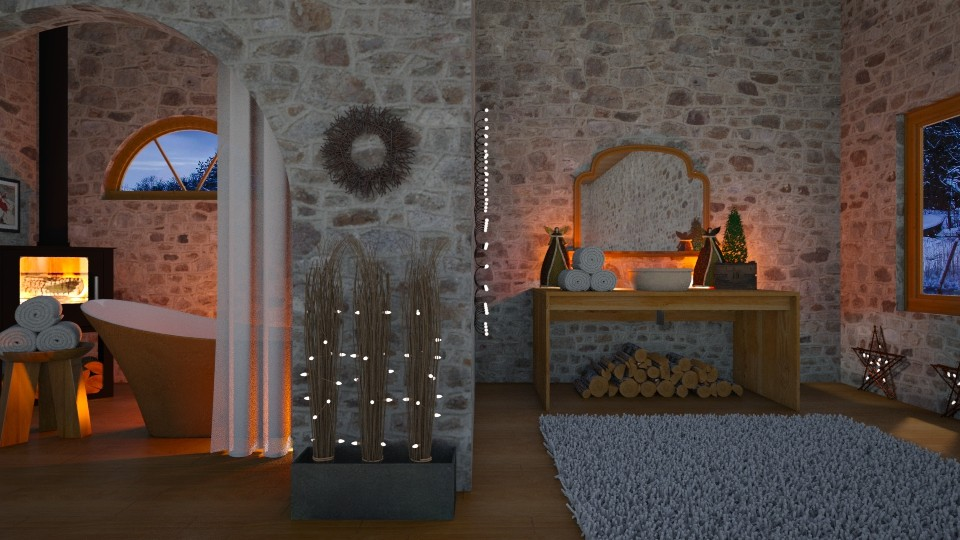 Christmas Bath - by KKTO