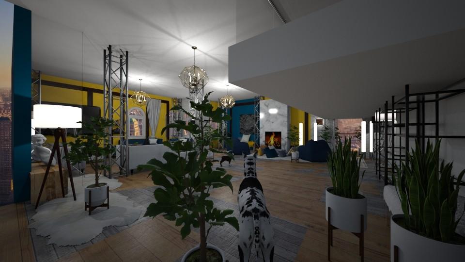 2nd  - Living room - by anekyen