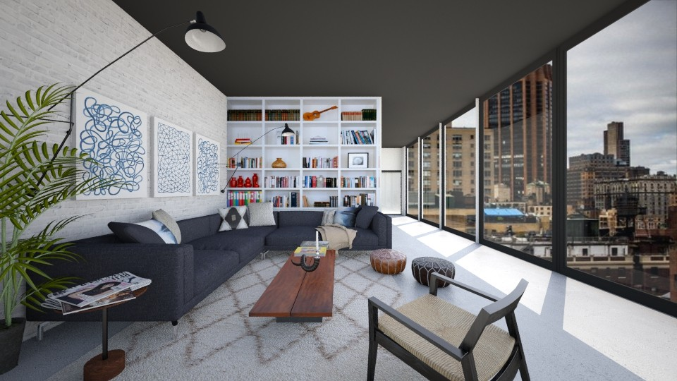 East Village Living - Living room - by mrusso0