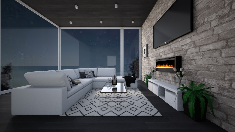 the clean house - Modern - Living room - by chloe_mccarty