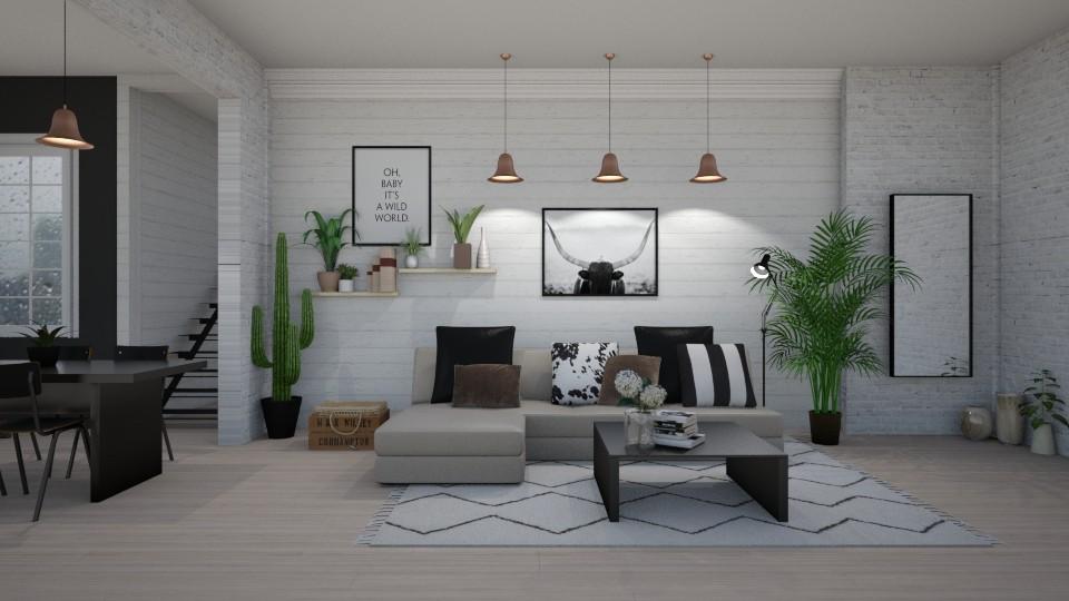 plants - Living room - by Kelli Mallory