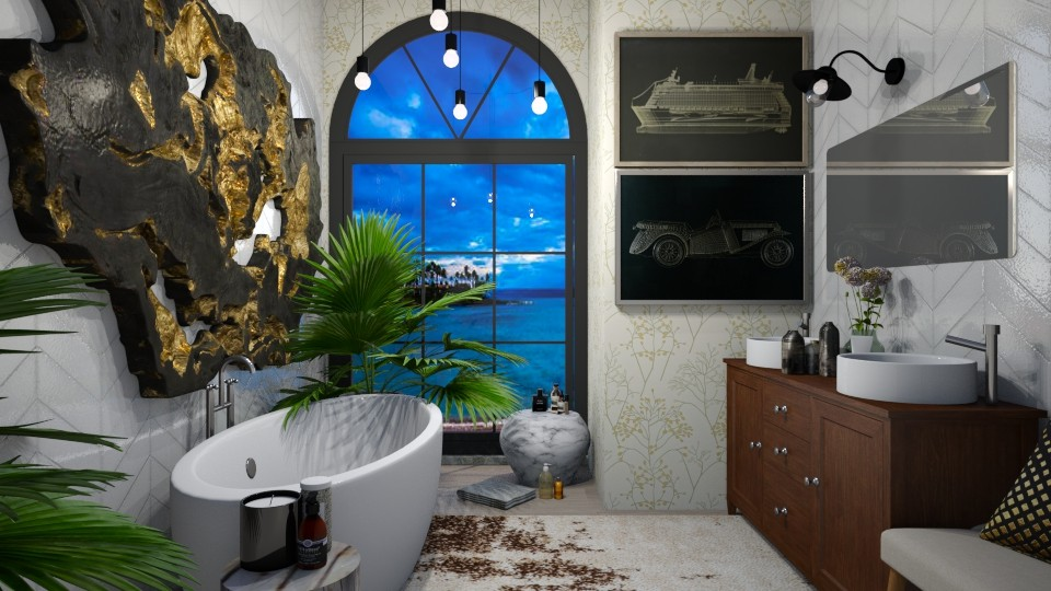 Luxury Bathroom - by Brianna_322