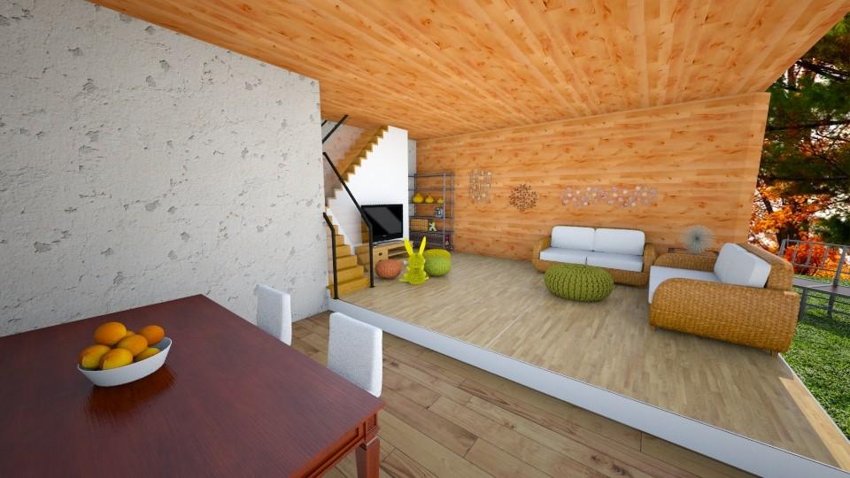 Autumn Living Room - Living room - by 2onejoshlers
