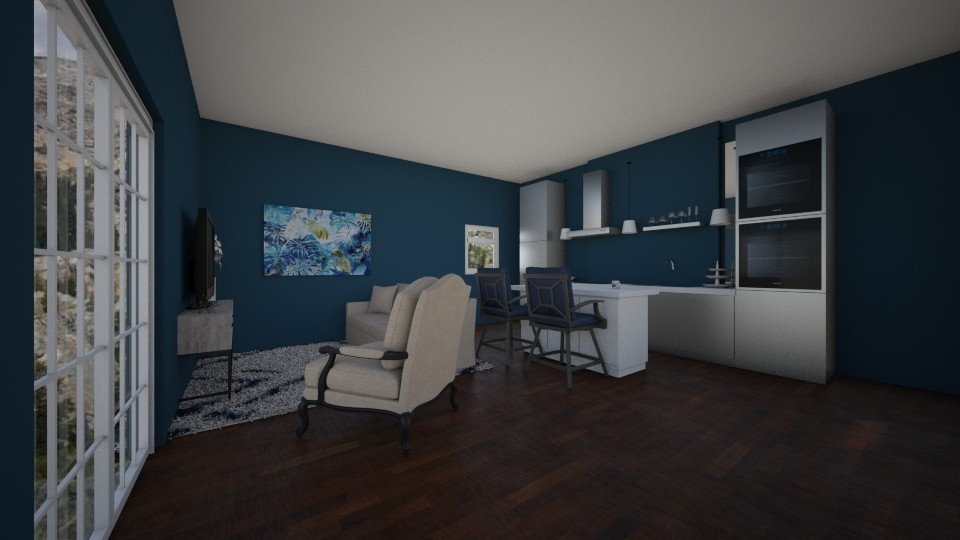 Living and Kitchen Room - Living room - by RAF2024