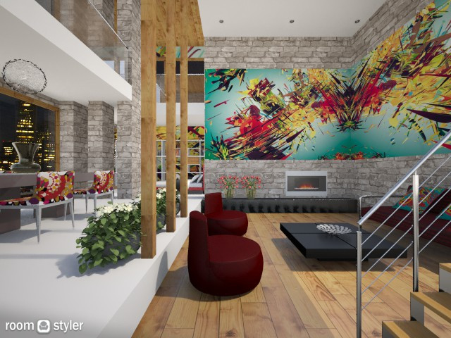 Graffiti Loft - by Milagros Rossi Martino
