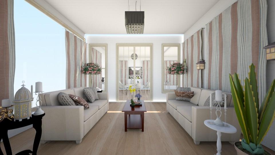 Simple Living room - Modern - Living room - by Purple Lemons