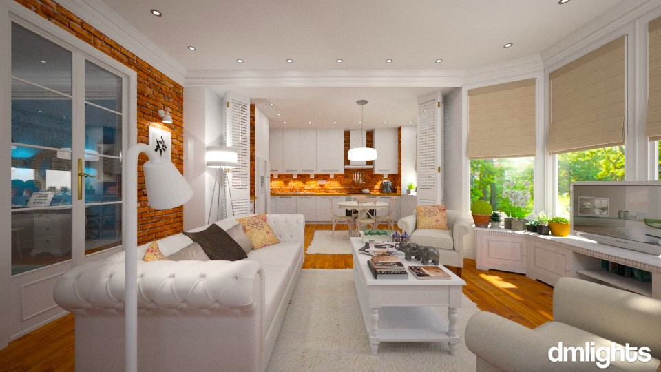 Brooklyn Heights - Modern - Living room - by Claudia Correia