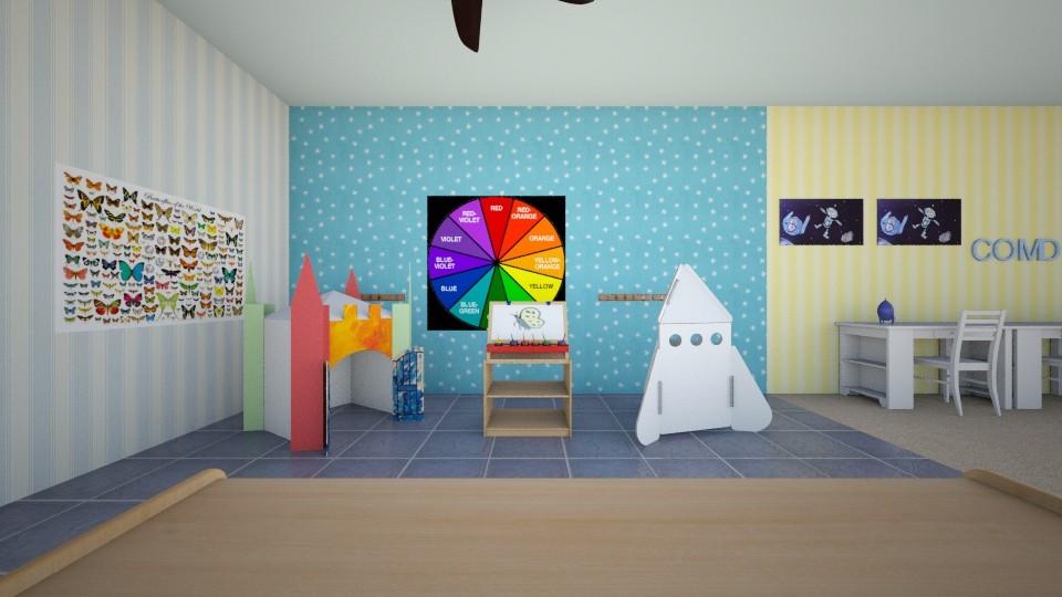 Junior k activity room kids room by shmi for Activity room