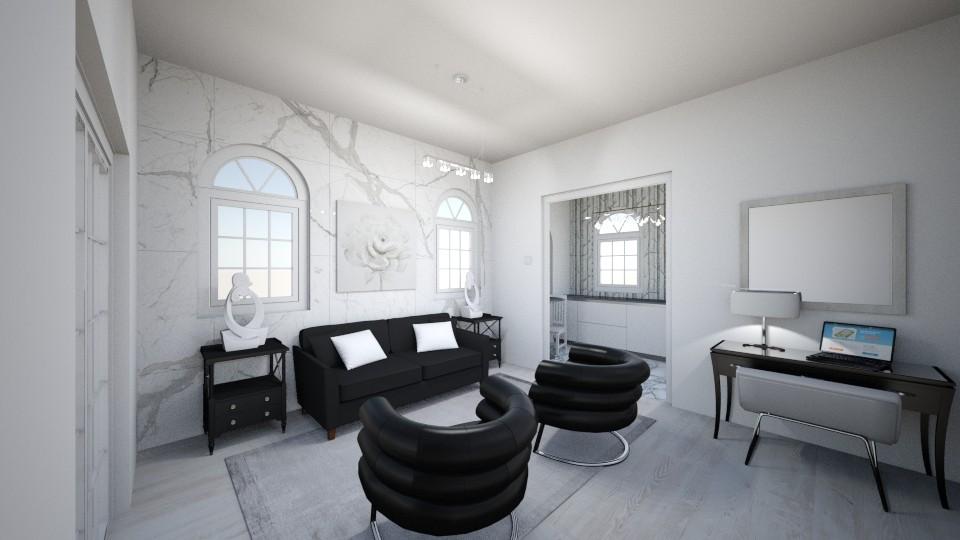Brontes Living Room 2 - Living room - by brontevankesteren