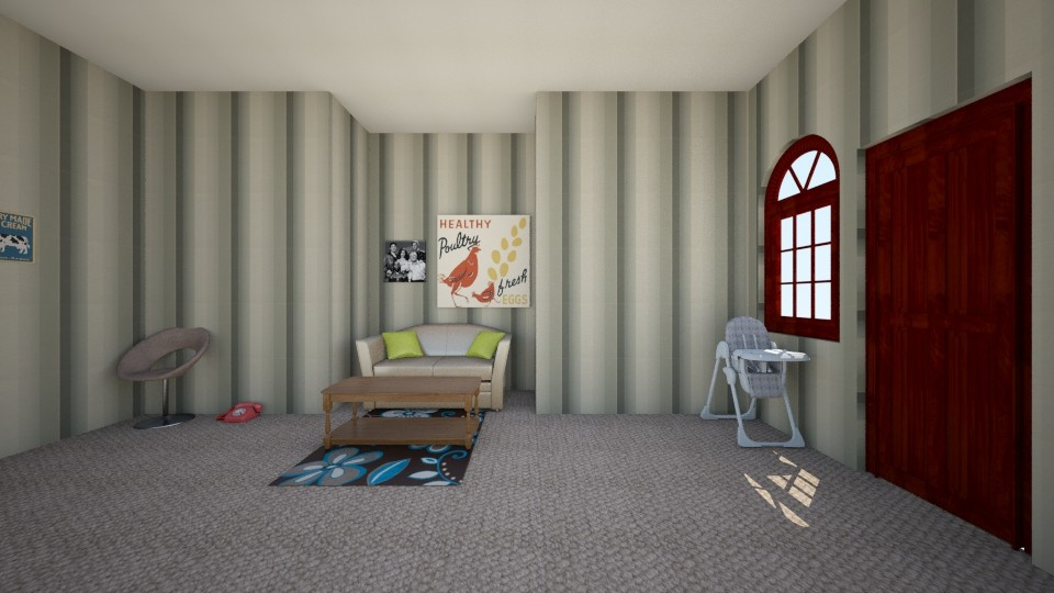 retro house part one - Living room - by MY10096