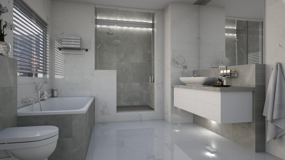 Marbly - Bathroom - by MandyB84