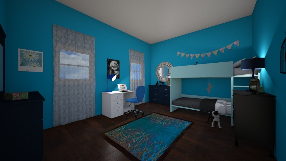 Blue Bedroom - by SzTheHope_
