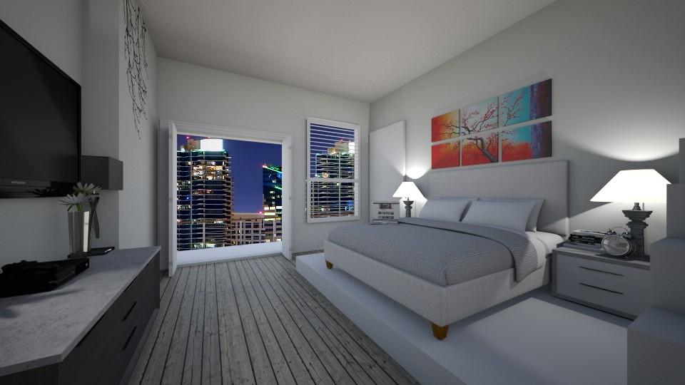 Modern Bedroom - by alissiaxxx