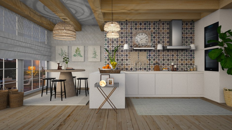 boho - Kitchen - by MiaM