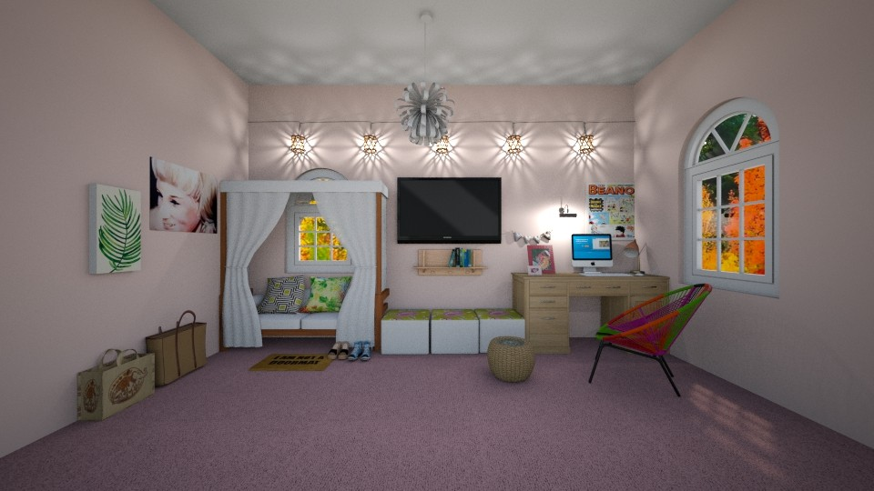 pretty - Kids room - by New York Mets