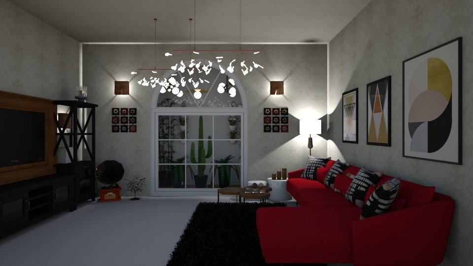 living room - Modern - Living room - by zahraa97