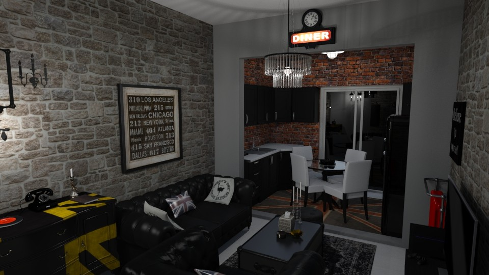 My Living room 1 - Vintage - Living room - by kostis kkkk