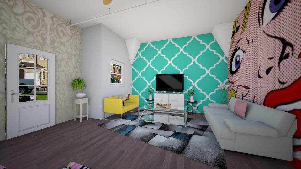 PopArt - Living room - by Brabbit SD