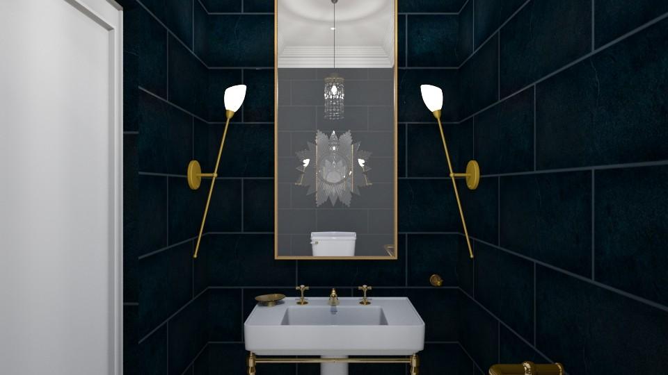 1920s Gilt - Bathroom - by babbjii