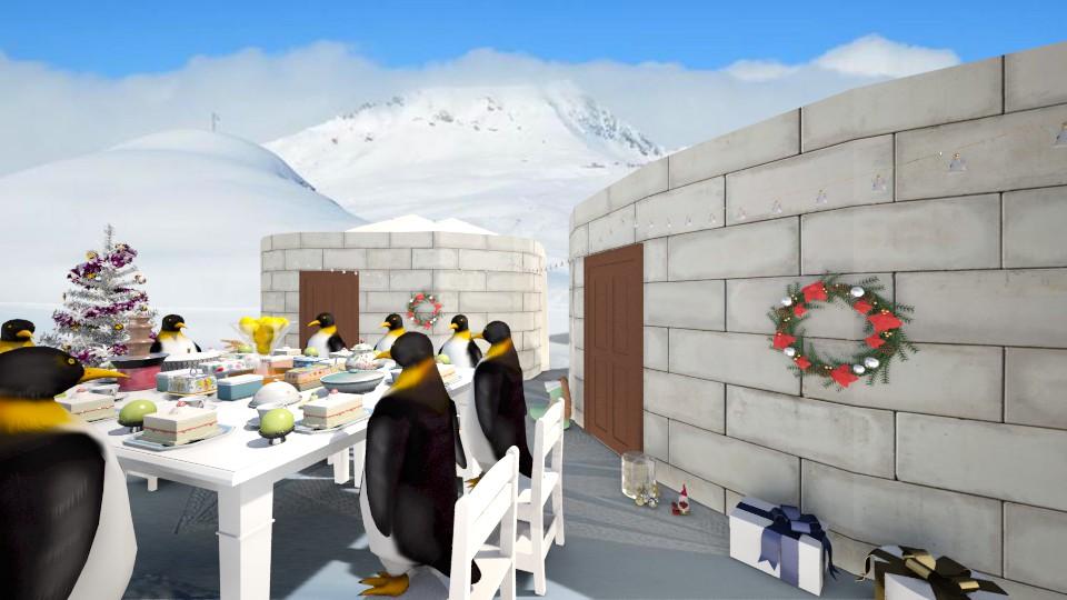 南極 聖誕 - Dining room - by Ni NI