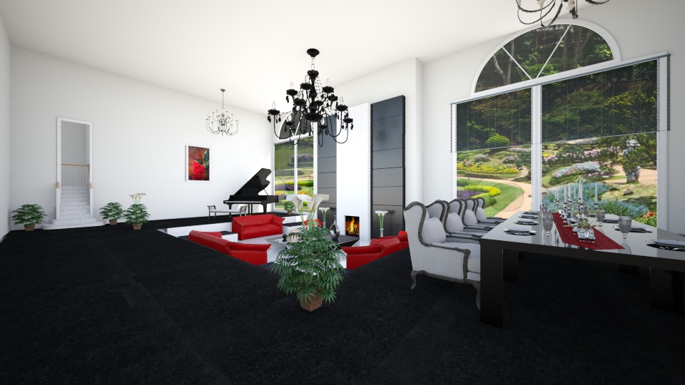 penthouse park - by Interiors by Laura