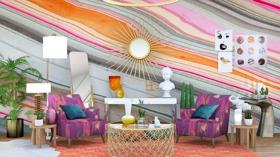 Color - Eclectic - Living room - by annator