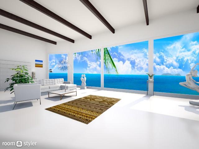 Beach house - by ellafrodin