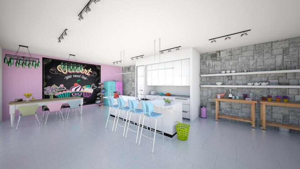 big kitchen - Kitchen - by Franco Juliano Tan