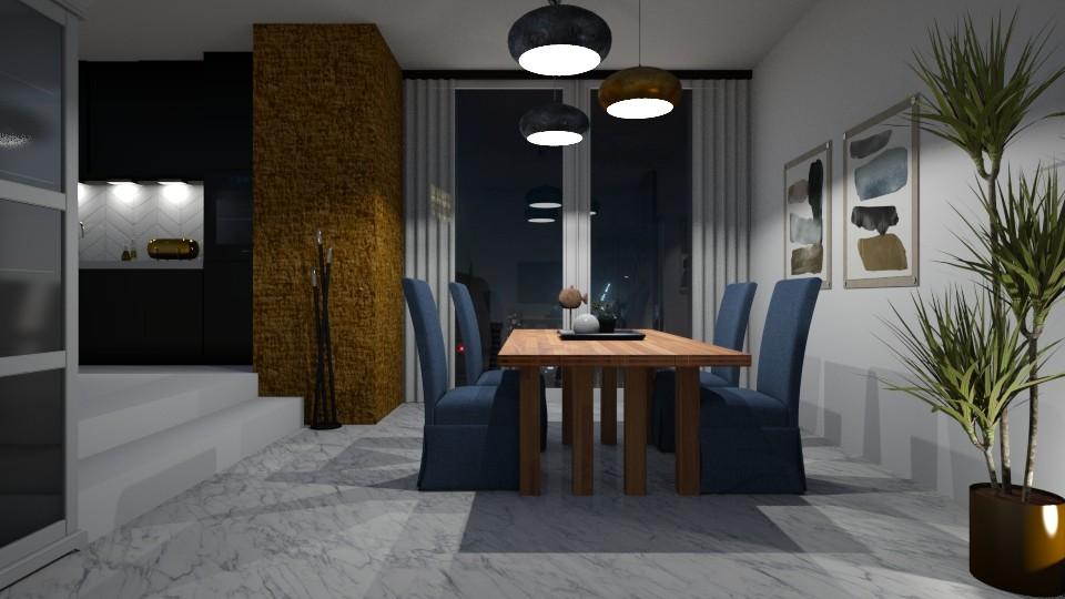 Elevated space - Dining room - by jagwas