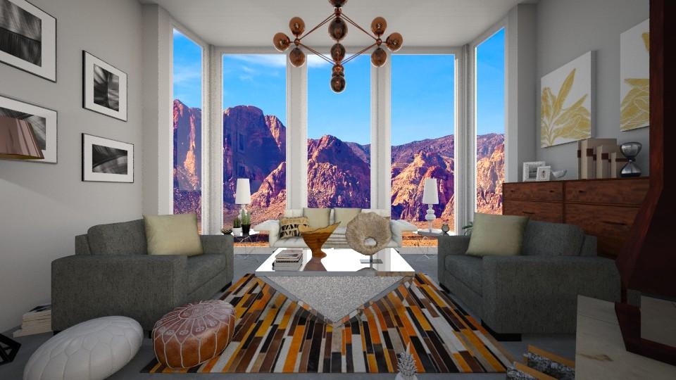Vintage Oasis - Vintage - Living room - by Raquel Collison
