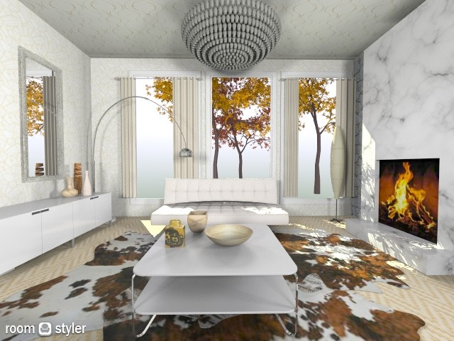 Mick  redo - Modern - Living room - by Calolynn