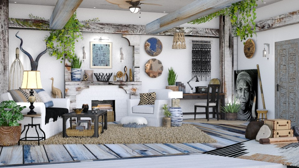 sojourn - Rustic - Living room - by starsector