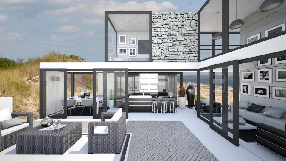 Luxury In The Dunes - Modern - by KRdesign