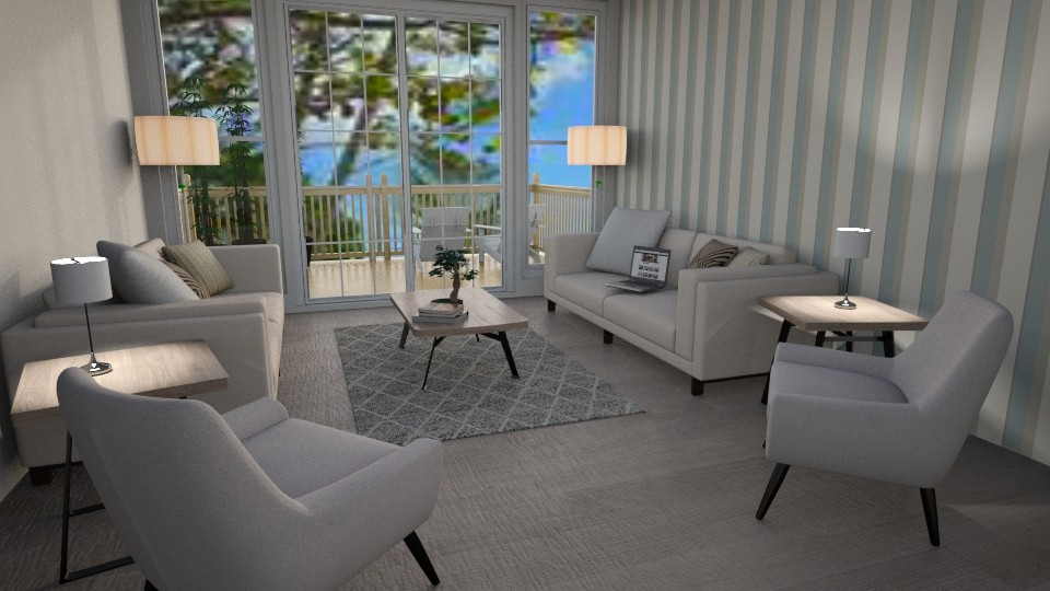 Beachouse Lounge - Classic - Living room - by millerfam