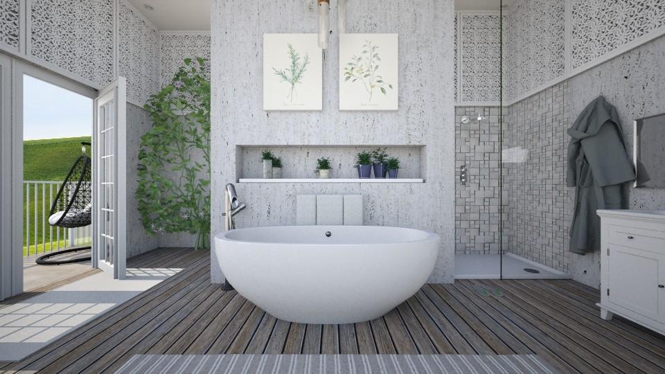 Earth Series 1 - Bathroom - by hannahglass