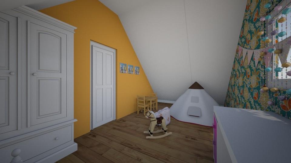 children room - by Kaarin Aamer