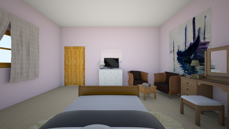 Pink room - Bedroom - by isobelme