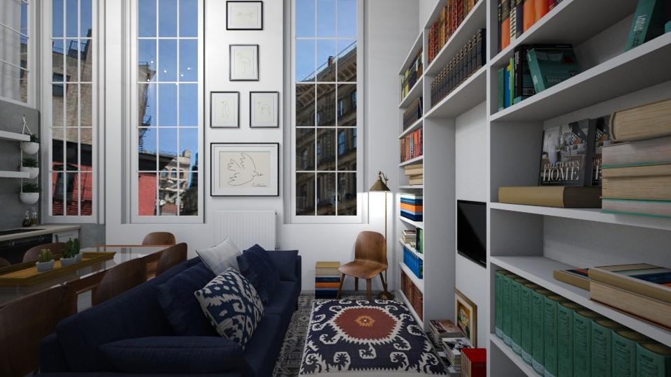 Casa188LivingArea - Classic - Living room - by nickynunes