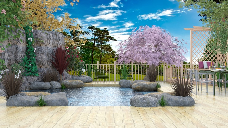 Swimming Pond - Garden - by millerfam