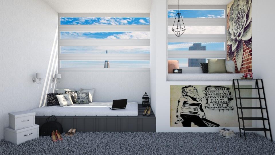 2Tastes 1Room - Bedroom - by Naavarin