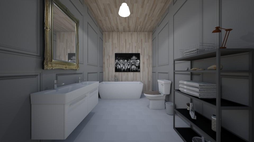 Quiet Resort  - Bathroom - by soccermanward